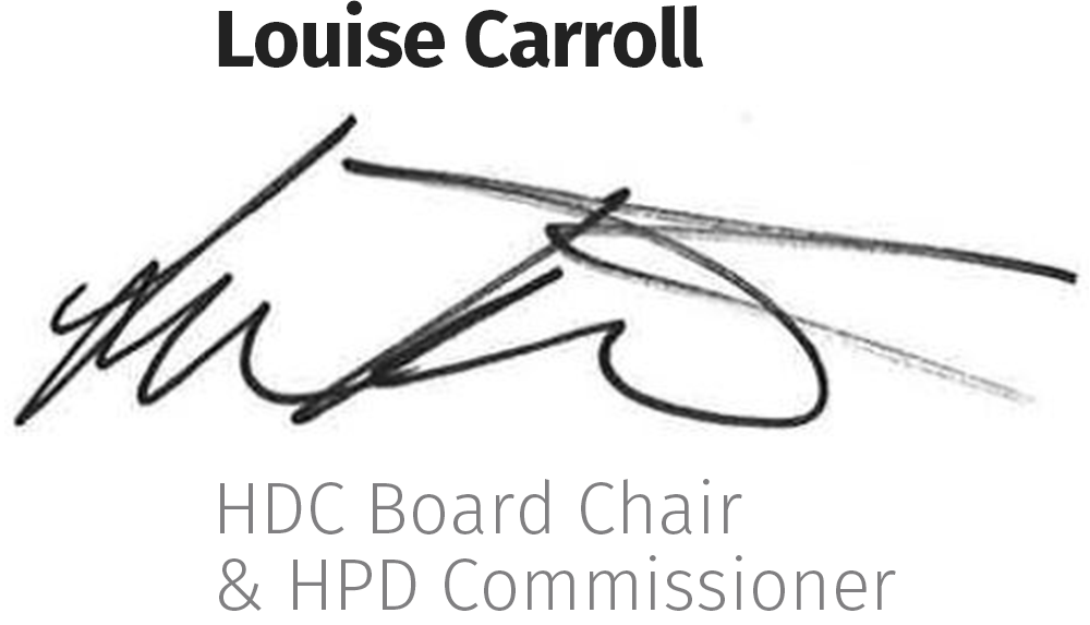 NYCHDC Board Chair
